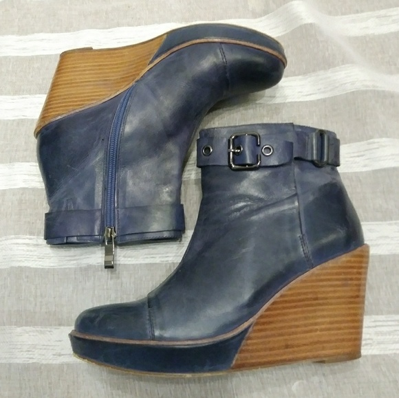 125cb5f5a81 Antelope Shoes - 🍁SALE🍁 Antelope Leather Wedge Ankle Boots